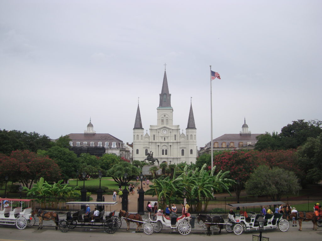 Overlooking Jackson Square