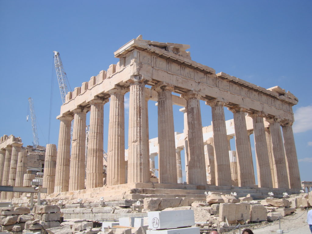 Another Angle of Parthenon