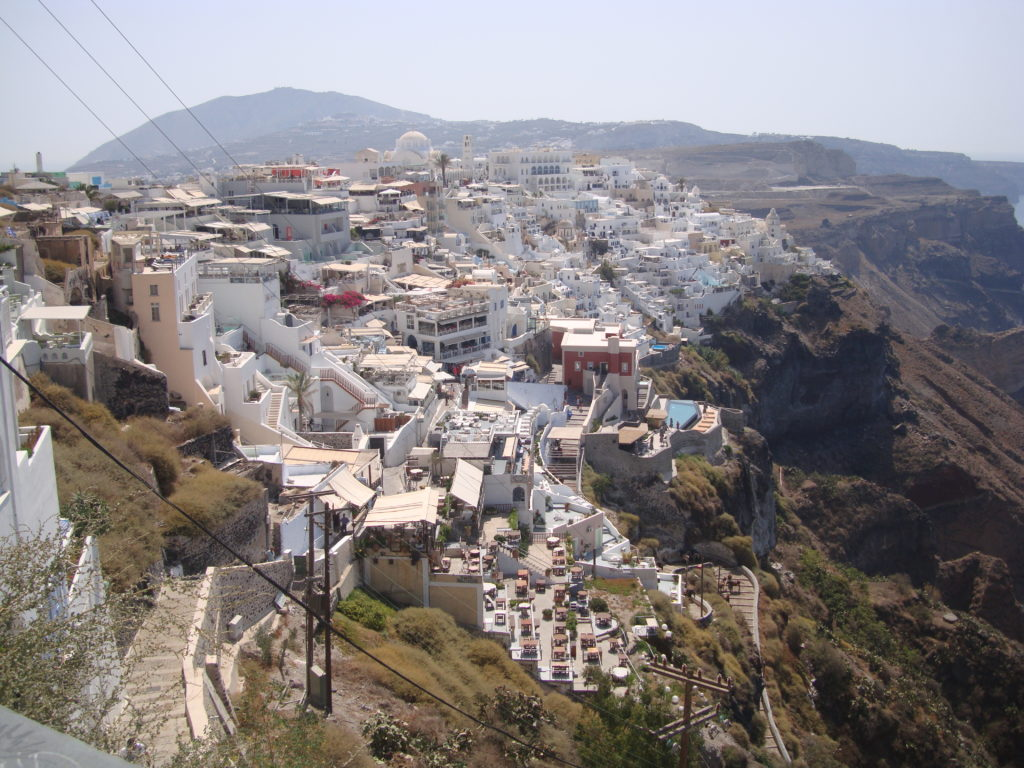 Fira, Looking South