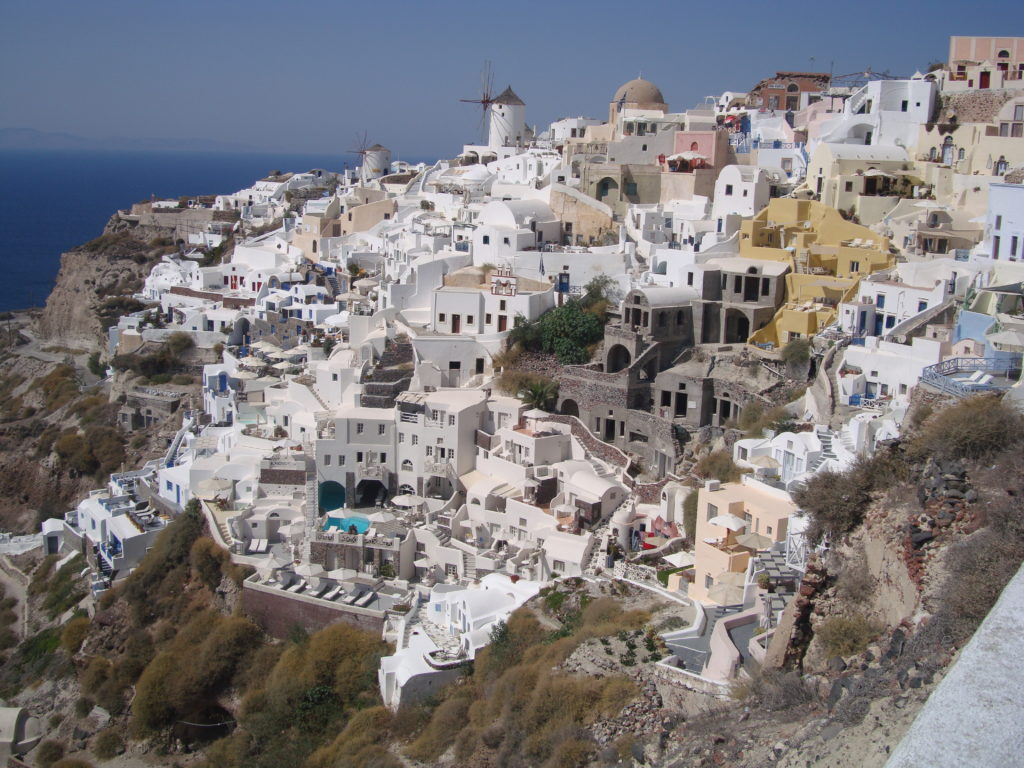West side of Oia