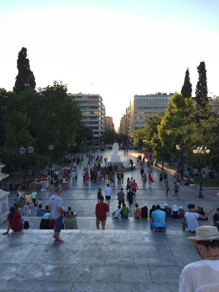 Syntagma Square overview